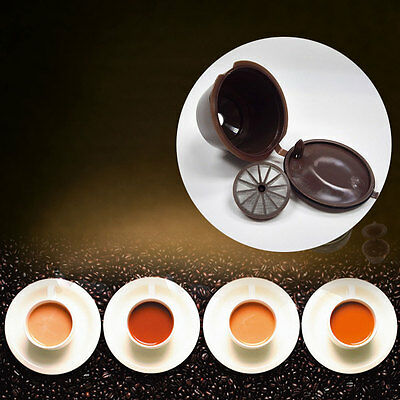 Reusable Coffee Capsules Cup Filter For Nescafe Dolce Gusto Refillable Brewers