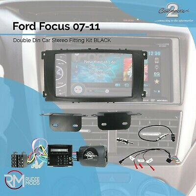 CTKFD24 Ford Focus 07-11 Complete Double Din Stereo Fitting Kit