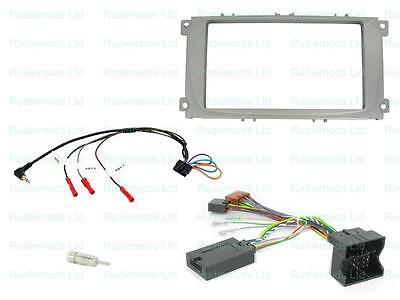CTKFD25 Ford Mondeo 2007-2014 Complete Double Din Stereo Fitting Kit SILVER