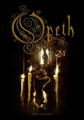 Opeth Ghost Reveries  Music Flags Wall Hanger  Italy Licensed Silk Screen  L 672