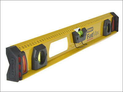 Stanley STA143555 Tools FatMax I Beam Level 3 Vial 120cm 1200mm 1-43-555 New