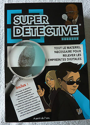 Super Détective jeu educatif neuf OID Magic