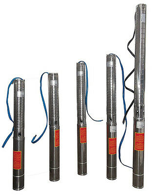 """IBO 4"""" SD10-17 Submersible Water Borehole Pump 94m 19400LPH 400V SAND RESISTANT"""