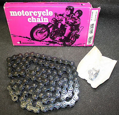 Diamond USA #525 Motorcycle Roller Chain Replacement Harley Davidson 100 Link