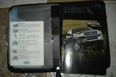 2008 Ford F150 F-150 Truck Owners Manual Packet  & Ford Case