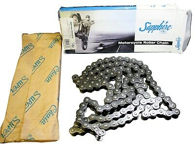 Sapphire RSC #530 Motorcycle Roller Chain Replacement Harley Davidson 112 Link