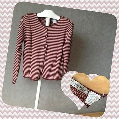 Gilet Cardigan A L'HEURE ANGLAISE fille 8 ans TTBE