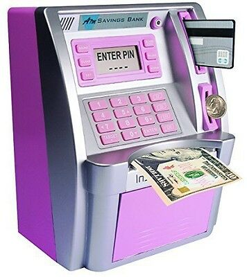 Peers Hardy ATM Savings Bank - Limited Edition - Pink/Silver