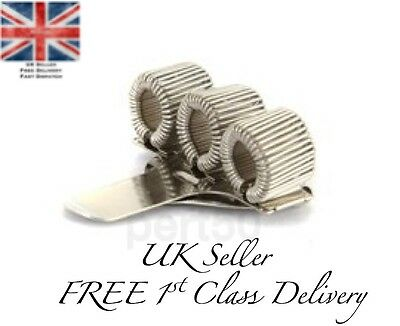 High Quality Stainless Steel Nurse Triple Pen Holder Clip Doctor Gift UK Present