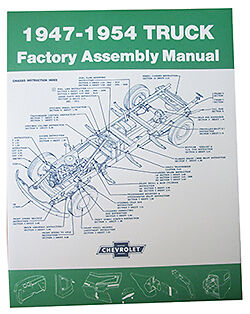 1947-54 Chevy & Gmc Truck Factory Assembly Manual-Sm4754Ct