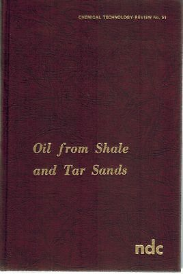 Oil from Shale and Tar Sands 1975 HC BOOK