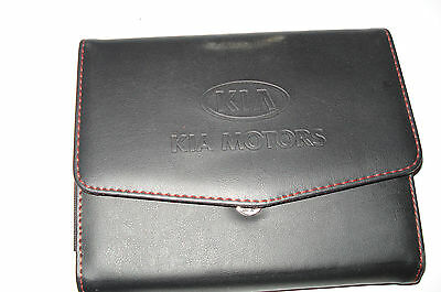 Kia Factory Owners Manual Case   * New Take Out *