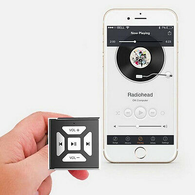 Car Bluetooth Media Audio Music Steering Wheel Remote Button for iPhone5 6 7
