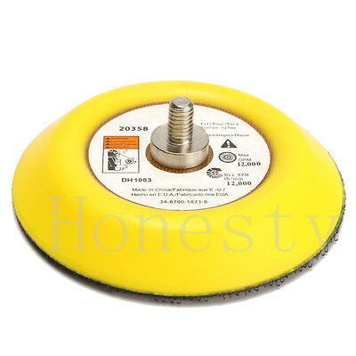 "Polishing Sander Backer Plate Napping Hook And Loop Sanding Disc Pad 2""/3""/4"""
