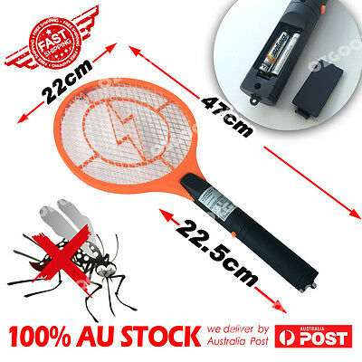 NEW Electric Handheld Bug Zapper Racket Mosquito Fly Swatter Killer Insects Bat