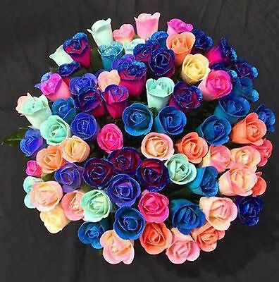 12 Crystal Roses and Gift/Travel Box