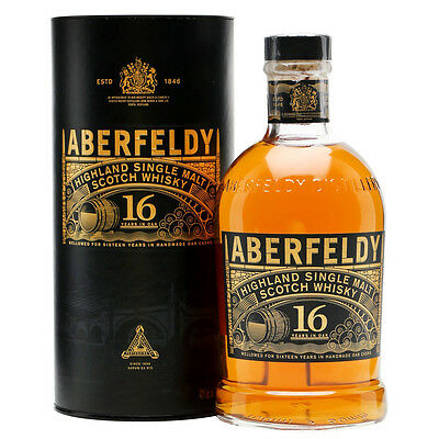 Aberfeldy 16 Year Old Single Malt Scotch Whisky 700mL