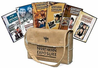 Northern Exposure:The Complete Series Giftset Faux Suede Bag(DVD,26-Disc Set)New