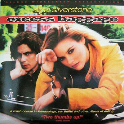 Excess Baggage Ws Cc New & Sealed Laserdisc Alicia Silverstone