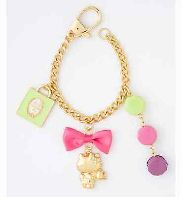 Hello Kitty x Laduree Bag charm by Mark's key chain from JAPAN NEW FS