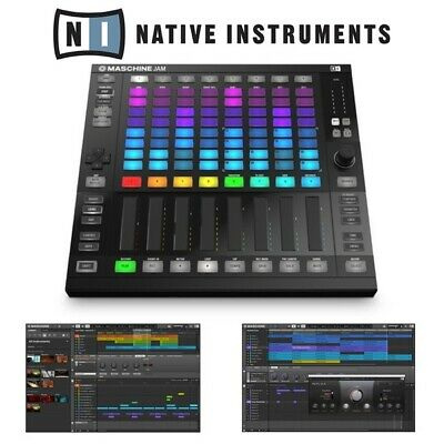 Native Instruments Maschine Jam Production Controller with Komplete 11 Select