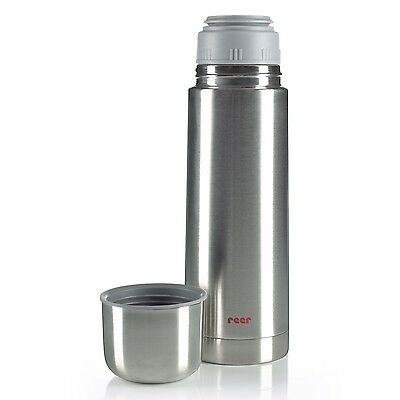 Thermoflasche Edelstahl Isolierflasche 500 ml reer Thermo-Behälter Baby-Nahrung