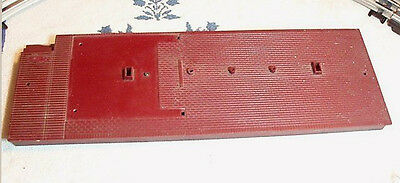 Lionel O Gauge Red Floor from Illuminated Freight Station 256 Parts or Repair