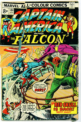 <•.•> CAPTAIN AMERICA AND THE FALCON (VOL.1) • Issue 184 • Marvel Comics