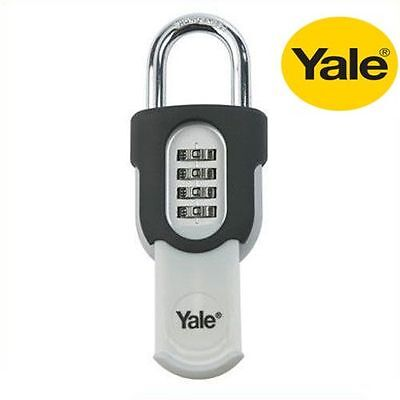 YALE COMBINATION SECURITY SLIDE PADLOCK 50mm - NEW