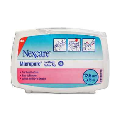 Nexcare Micropore Tape 12.5Mm X 5M With Dispenser