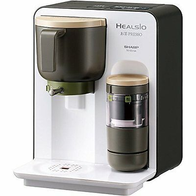 Sharp TE-GS10A-W Healsio Kitchen Tea Presso System White-Based Japan new.