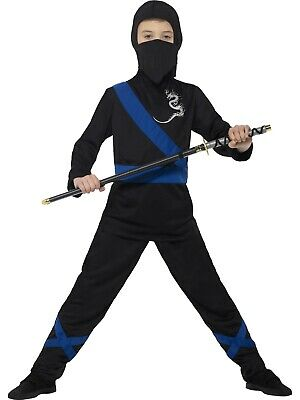 Ninja Assassin Costume Smiffys Fancy Dress Costume