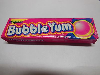 Vintage Original Bubble Yum Bubble Gum 5 Piece Pack