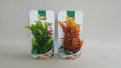 Aquarium Plant 1x 22-25 cm Fishtank Ceramic Base Fish Water Stone Tropical Decor