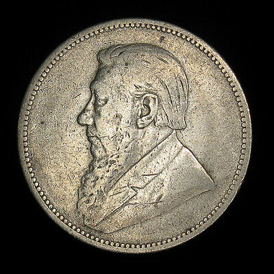 South Africa 2 Shillings 1894 Silver