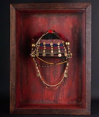 Indien / Burma 19. Jh. Kopfschmuck - A North Eastern Indian Tribal Headdress