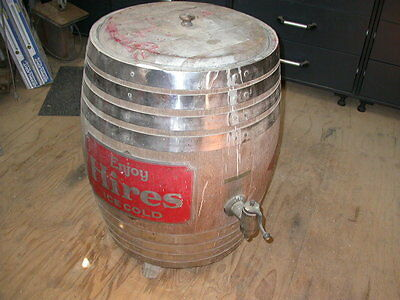 Antique Hires Root Beer Barrel Dispenser