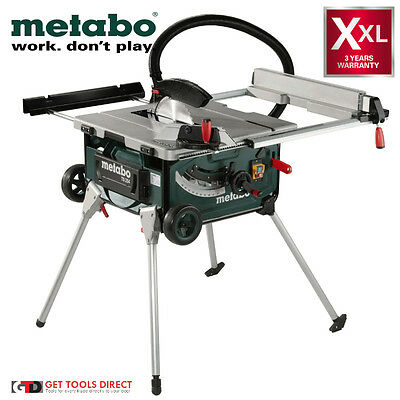 New Metabo 2000W 254mm Table Saw TS254  -  3 Year Warranty