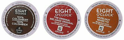 Eight O`Clock Discovery Box K-Cups Cafe Espresso Coffee Single Serving Beverage