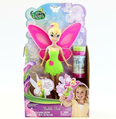 Disney Fairies Tinkerbell Bubble Wand  Bubble Tink  23cm Doll