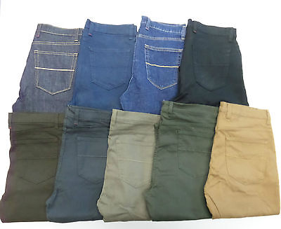 Mens Ex M&S Stay New Regular Straight Stretch Jeans, **SECONDS** RRP £40 MS17
