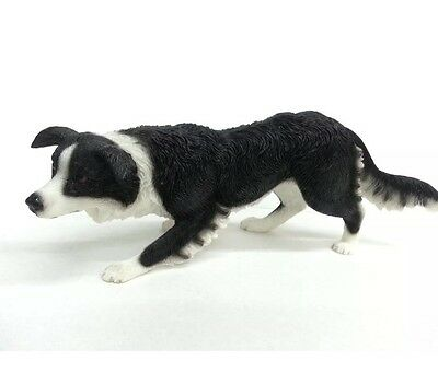 Border Collie Dog Ornament Figurine Statue Figure Gift For Dog Lovres