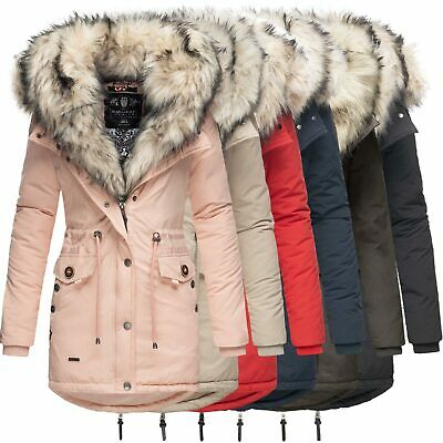 NAVAHOO 2IN1 DAMEN Winter Jacke Parka Mantel Winterjacke