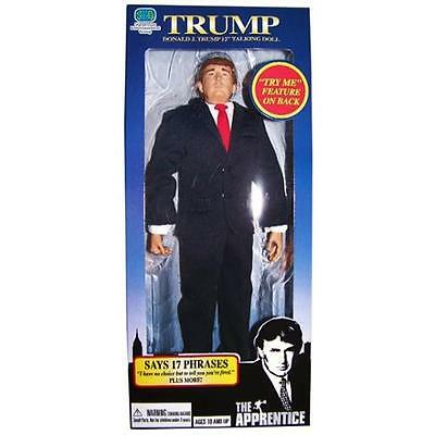 "Donald Trump 12"" Collectible Talking Doll - Includes 17 Phrases"