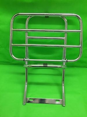 Vespa 125 T5 Mark 1 Chrome Fold Down Rear Luggage Carrier TX200