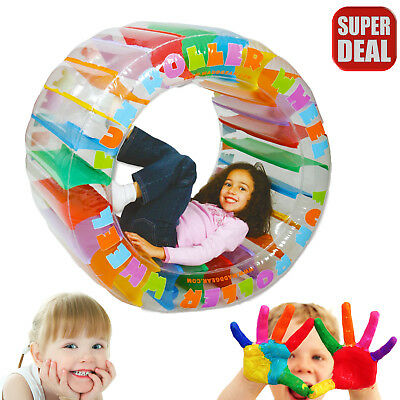Autism  Sensory Inflatable Roller Wheel Toy Special Needs Roll Activity Therapy
