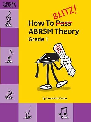 How To Blitz ABRSM Exam Theory Learn to Play Beginner Student Music Book Grade 1