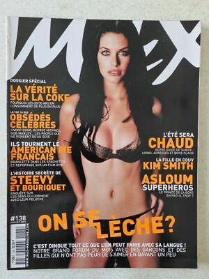 Magazine / revue MAX french #138 juillet 2001 Kim Smith