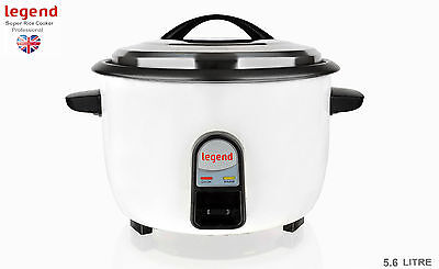 New Legend Electric Rice Cooker Steamer 5.6L Non Stick Coating Kitchen Appliance