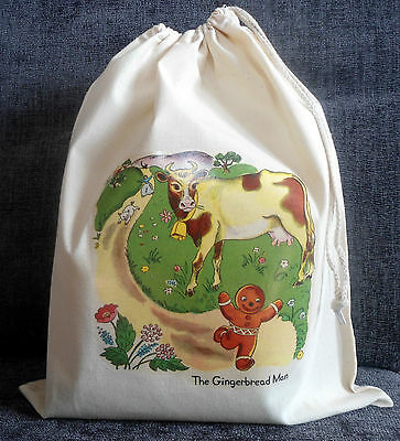 THE GINGERBREAD MAN Empty Story Sack, Book & Teaching Resources CD